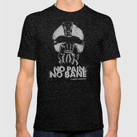 No Pain, No Bane Mens Fitted Tee Tri-Black SMALL