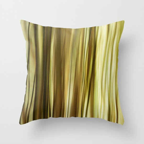 Lost In Grass Throw Pillow