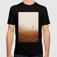 Morning Fog Mens Fitted Tee Black SMALL