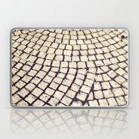 cobblestone pathway Laptop & iPad Skin