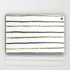 Golden Black Laptop & iPad Skin