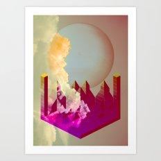 Castello Volante Art Print