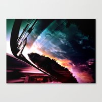 Inverted Horizon Canvas Print