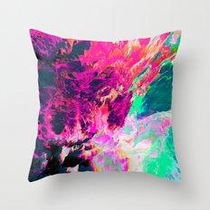 Eudokía (Abstract 42) Throw Pillow