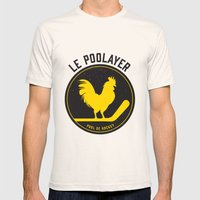 Le Poolayer Mens Fitted Tee Natural SMALL