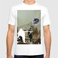 Bread Winners Mens Fitted Tee White SMALL