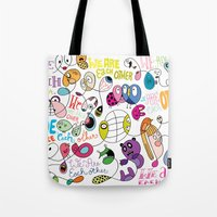 We Are Each Other (the print) Tote Bag
