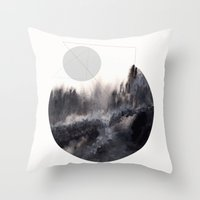 Watercolor S. 04 Throw Pillow