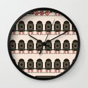 Stretched Out Locomotive  Wall Clock