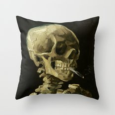 Skull Of A Skeleton With… Throw Pillow