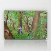 A Day Of Forest (3). (Ob… Laptop & iPad Skin