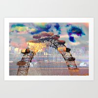 London II - London Eye Art Print