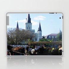 New Orleans Castle Laptop & iPad Skin