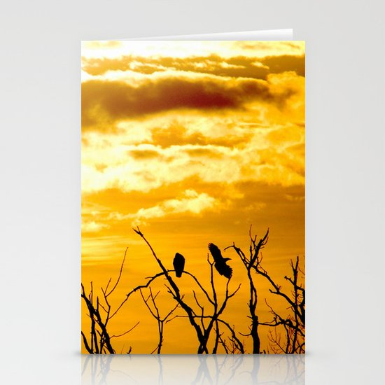 Takeoffs and Landings Stationery Card
