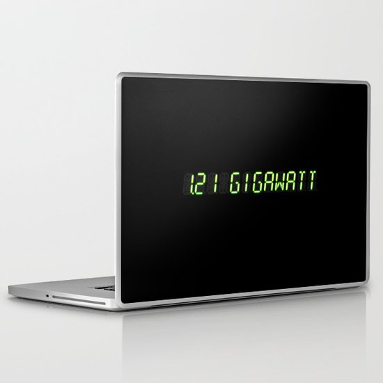 1.21 Gigawatt - Back to the future Laptop & iPad Skin