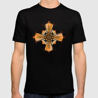 Cross Mens Fitted Tee Black SMALL