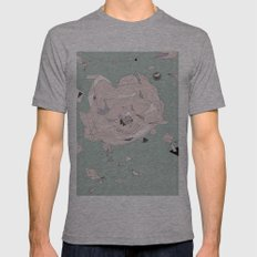 cosmos Mens Fitted Tee Athletic Grey SMALL