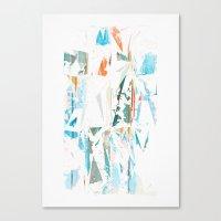 Splinters Canvas Print