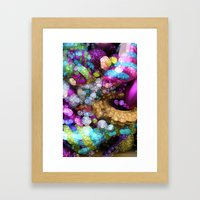 Rainbow Bling Framed Art Print