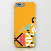 Orange Arabic iPhone 6 Slim Case