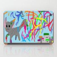 Artistic kitten  iPad Case