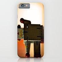 Kung Fu Robot iPhone 6 Slim Case