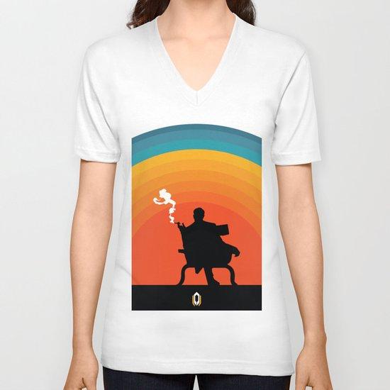 The illusive man V-neck T-shirt