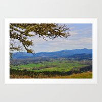 A Top Mt. Pisgah Art Print