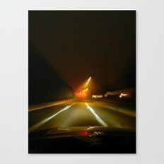 On the ave. Canvas Print
