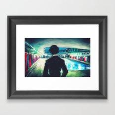 The Pool Framed Art Print