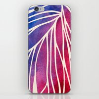 Watercolor Porcupine iPhone & iPod Skin