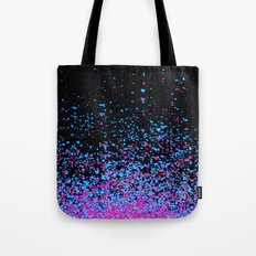 infinity in blue and purple Tote Bag