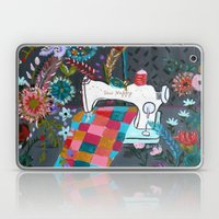 Vintage Sewing Machine Laptop & iPad Skin