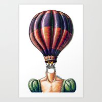 Think Freely & Bit Simpler Art Print