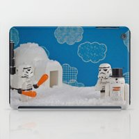 Snowdroid Building On Ho… iPad Case