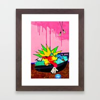 The Visual Existentialist Framed Art Print
