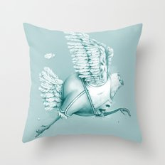 Olimpic Chicken Throw Pillow