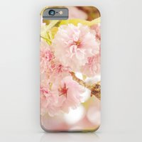 iPhone & iPod Case featuring Pink Flower Photography | Shabby Chic Blossoms by Beach Bum Chix