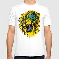 Bryan Fell Hard Mens Fitted Tee White SMALL