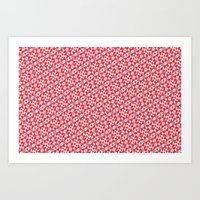 Pin Bow Art Print