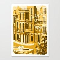 Santa Cruz De La Plama #… Canvas Print
