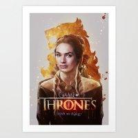 Cersei Art Print