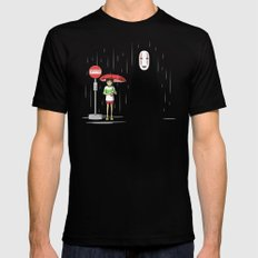 My Lonely Neighbor Mens Fitted Tee SMALL Black