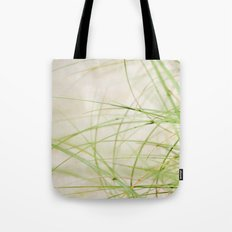 Green Wisps Tote Bag