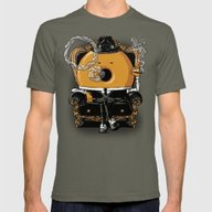 Gangster Donut Mens Fitted Tee Lieutenant SMALL