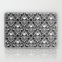 Skull Damask Laptop & iPad Skin