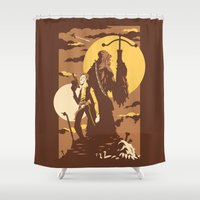 The Scoundrel & The Wook… Shower Curtain