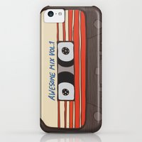 iPhone 5c Cases featuring Guardians of the Galaxy by evannave