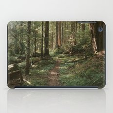 Wonderland Forest Trail iPad Case