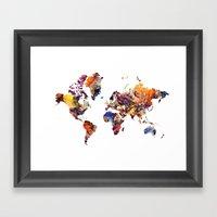 LCN's World Framed Art Print